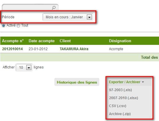 Excel acompte auto entrepreneur export facture for Auto entrepreneur quel metier rapporte