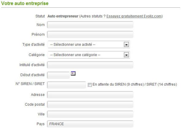 Compte auto entrepreneur compte en ligne auto for Inscription d et co