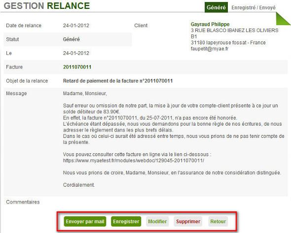 Relance Auto Entrepreneur Myae Fr Relance Facture Et Client