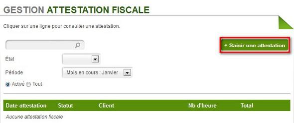 Attestation Fiscale Auto Entrepreneur Myae Service A La Personne