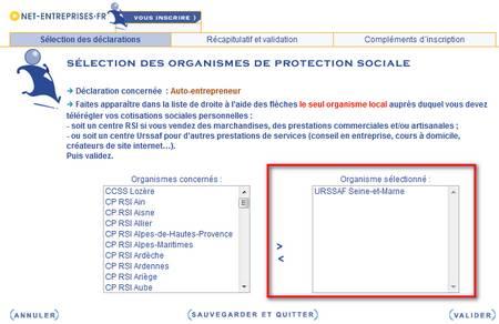 Net Entreprise Auto Entrepreneur Myae S Inscrire Pour Declarer